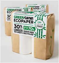 Bathroom products: Greencane - 4 Pack Toilet Rolls