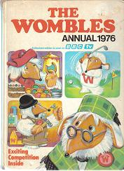 Childrens' Books: The Wombles Annual 1976