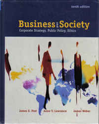 Sustainable Business: Busienss and Society - Corporate strategy, public policy, ethics