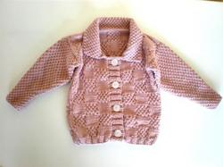 Knitwear - Bamboo: 70% Bamboo Cardigan (6-9 Months)
