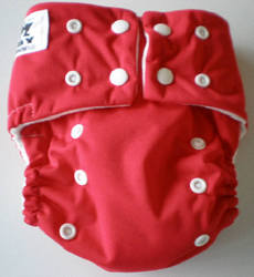 Let's Reuse: EZPZ Modern Cloth Nappy - Red