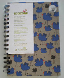 Stationery: A5 Ecozone Sprial Lined Notebook