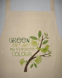 Aprons: Green Isn't Just My Favourite Colour Apron