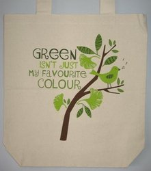 Bags: Green Isn't Just My Favourite Colour Carry Bag